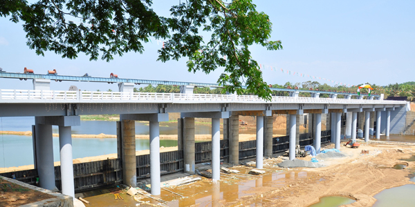 REGULATOR CUM BRIDGE, MAMBAD, MALAPPURAM Dt.